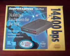 Supra SupraExpress 144 Plus 14.4 External Modem Mac NEW FaxModem