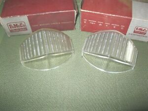 NOS 1953-1954 Ford Truck Parking Lamp Lens Set, Show ready!