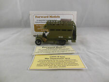 Rare Early Forward Models B-Type Bus 1914 En route to Amiens1:60 scale 1 0f 200