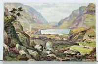 Killarney Serpent Lake, Gap of Dunloe Raphael Tuck Oilette Postcard D18
