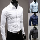 Men's Trench Coat Winter Jacket Double Breasted Overcoat Windbreaker Dress Shirt