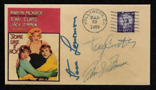 Some Like it Hot Marilyn Monroe Collector Envelope Genuine 1950s Stamp OP1230