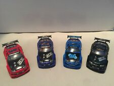 Muscle Machines Import Tuners 1/64 Lot Of 4 4 Toyota Supra Turbo Die Cast Blue