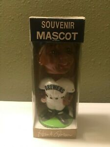 Vintage 1974 Henry Hank Aaron Milwaukee Brewers Braves Nodder Bobblehead in Box!