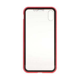 360 Double Sided Glass Magnetic Adsorption Phone Case Cover fiis For iPhone