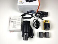 Sony FDR-AX53 4K Camcorder, inkl. Zubehörpaket. Rechnung mit Mwst.