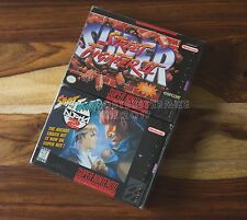 Super Street Fighter II 2 and Street Fighter Alpha 2 CIB complete SNES Nintendo