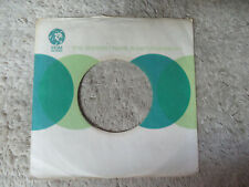 CIRLCE LION LOGO  MGM WHITE GREEN BLUE  45 record company sleeve only    45