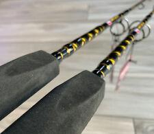 Lot of 2 Penn Battle Iii Stand Up Jigging Rods 30-80 Lb Braid Brand New