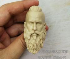 1/6 scale Vikings blank Head Sculpt unpainted strong man