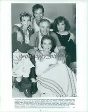 1985 Julie Andrews Cast of Blake Edwards That's Life Original News Service Photo