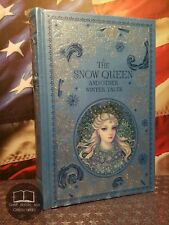 NEW SEALED The Snow Queen & Other Winter Tales - 100 Stories - Leather