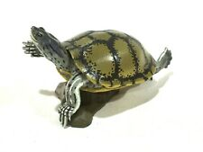 Japan KAIYODO Red Eared Slider Spotted Turtle Animal Miniature Realistic Figure