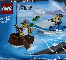 LEGO CITY POLICE MOTO D'ACQUA 30227 CON FIGURE MINI NUOVO
