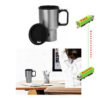 Travel Coffee Mug Thermal Insulated Stainless Steel Cup Leak & Spill Proof