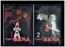 Demon Prince Enma Vol. 1 & 2 Complete Series - Brand New Rare, Out of Print DVD