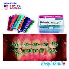 Dental Ligature Ties 40pcs Easyinsmile Orthodontic Elastic Rubber Band Assorted