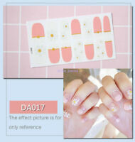 Sexy Girl's Art Decals Decoration Nail Wraps Stickers Adhesive Polish Foils New
