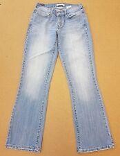 Damen Levis 529 Curvy Bootcut Jeans 8R (EUR 34R) W27 L31 blau A223