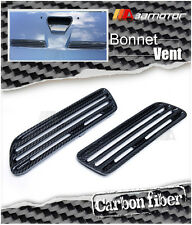 Carbon Fiber Bonnet Scoop Hood Air Twin Vents for Mitsubishi Evolution X EVO 10