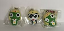 3 Rare Sgt. Frog & Tamama Squishy Collectables