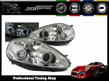 FARI ANTERIORI HEADLIGHTS LPFI03 FIAT GRANDE PUNTO 2005 2006 2007 2008 ANGEL EYE