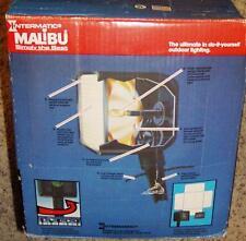 Lot of 2 New Malibu Low Voltage Optimatic model LV102 Square 11 watt Floodlights