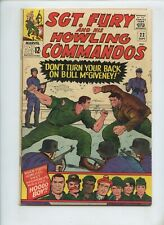 Sgt. Fury and his Howling Commandos #22 (1965) VG/FN