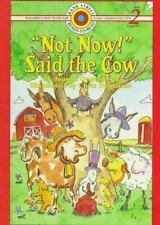 Not Now! Said the Cow (Bank Street Ready-To-Read)-ExLibrary