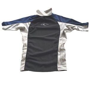 O'Neill Men's Size M Rash Guard Short Sleeve Compression Fit Mock Turtleneck