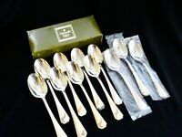 Christofle Tea Spoons America Silverplate Flatware Silverware