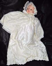 """Madame Alexander 1966 Original Vintage Victoria 19"""" Crier Baby Doll Christening"""