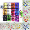 48Ps Christmas Xmas Tree Glitter Baubles Balls Ornament Hanging Home Decors New