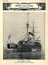 """Aufruhr und Meuterei in Odessa""""Knjäs Potemkin"""" Aus...Text-& 8 Bilddokumente 1905"""