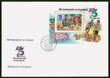 Mayfairstamps Chad 1982 Scouts Souvenir Sheet First Day Cover wwo96975