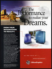 SILICON GRAPHICS INC - O2_Octane Workstations__Original 1998 Print AD promo__SGI