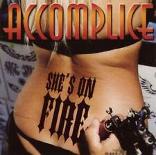 Accomplice She's On Fire Cd *Rare* Metal Hardline Axel Rudi Pell