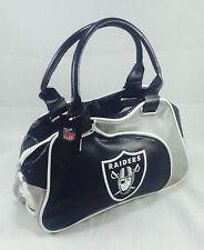 NFL Oakland Raiders Perfect Bowler Purse Hand Bag