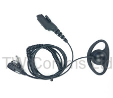 Hytera PD705 PD782 PD785 PD982 PD985 D-Ear with Lapel Microphone & PTT