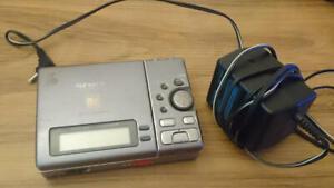Sony MD Player Walkman MZ-R3 with Adaptor