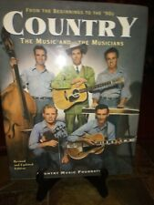 Country the Music and the Musicians From the Beginnings to the 90's HC DJ Illust