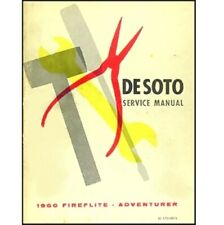 USED Original Factory Shop - Service Manual 1960 DeSoto