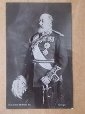 VINTAGE POSTCARD - H.R.H. KING EDWARD VII - ROYALTY POSTCARD
