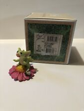 """""""Stop & Smell the Flower"""" Whimsical World Of Pocket Dragons With Box"""