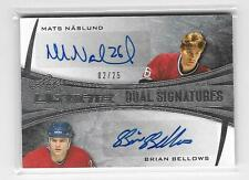 MARCUS NASLUND / BRIAN BELLOWS 2015 LEAF ULTIMATE DUAL AUTOGRAPH #2/25-CANADIANS