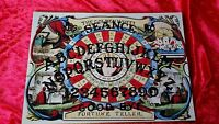 Victorian Magic Golden Wheel Seance EVP Ouija Board Vellum sheet fortune oracle