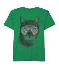 T-shirts, débardeurs et chemises verts avec des motifs Graphique pour garçon de 2 à 16 ans en 100% coton