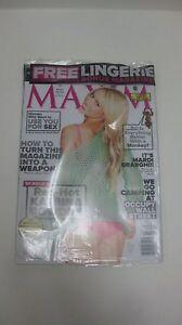 Collectible Maxim Magazine February 2012 Issue Red Hot Katrina Bowden  NEW eb984