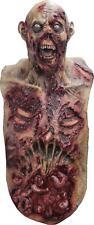 Mega Zombie Super Deluxe Grim Reaper Horror Mens Costume Overhead Mask Chest