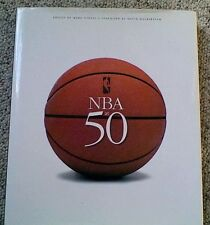 NBA AT 50 1996 BOOK EDITED BY MARK VANCIL AUTOGRAPHED BY BILL WALTON • NEW NBA